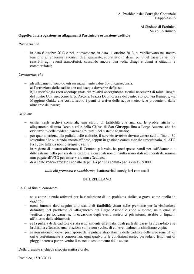 Interrograzione_allagamenti e pulizia caditoie11102013 (1)