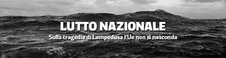 lampedusa lutto