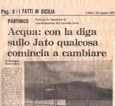 Un articolo del 1975 del prof. Giuseppe Casarrubea